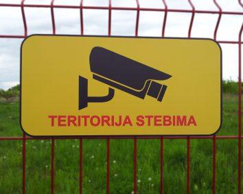 Teritorija stebima 400x200mm
