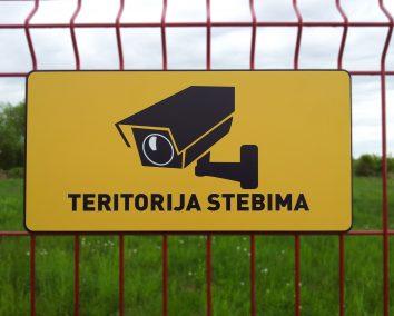 Teritorija stebima #4 400x200mm