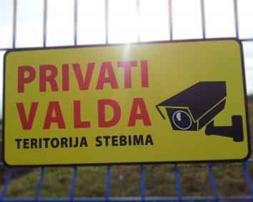Privati Valda Teritorija Stebima